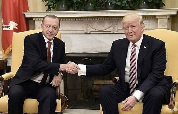 trump advisor in turkey for talks on syria pullout