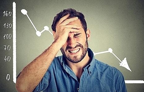 weak demand pushes shares down