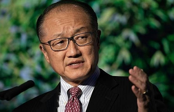 did world bank president jim yong kim leave on his own accord
