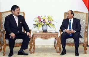 prime minister vows support to japanese businesses