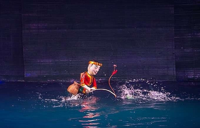 water puppetry to highlight vietnamese art at intl festival