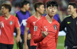 son sparks koreans to asian cup win as iran fire blanks