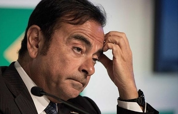ghosn received 8 million euro in improper payments nissan