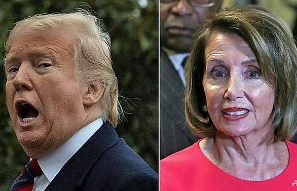 trump and pelosi clash again but others see possible paths