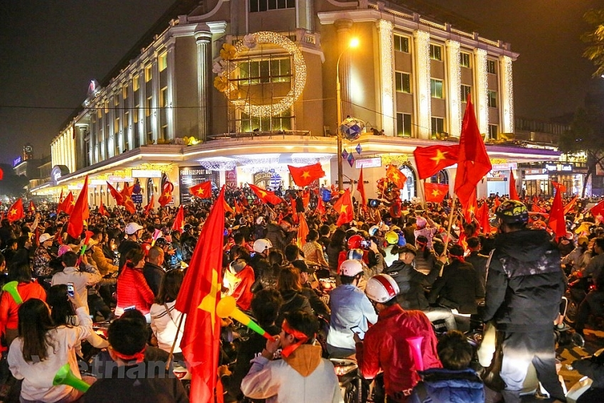 celebrations in hanoi as vietnam advance to quarter finals