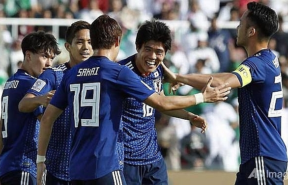 japans tomiyasu sends saudis spinning out of asian cup