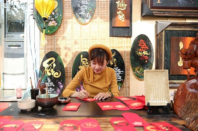 street of calligraphers opened in hcm city