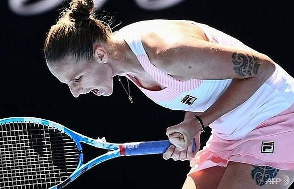 pliskova slays serena as djokovic cruises into australian open semi finals