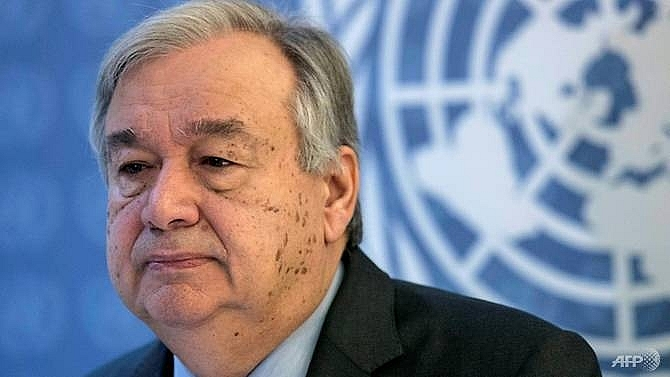 un chief warns we are losing the race on climate change
