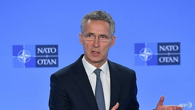 nato chief says trumps funding gripes having real results