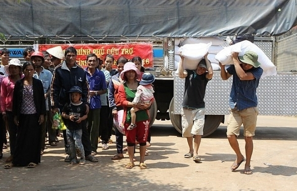 rice supply for poor households in ninh thuan ahead of new year