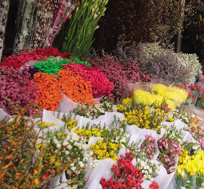 Nation awash with stunning flowers just before Lunar New Year festivities
