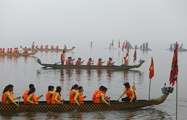 hanoi dragon boat race to run in february