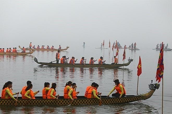 hanoi dragon boat race to run in february