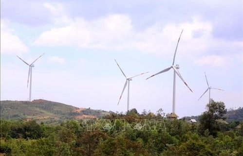 quang tri province starts construction of 3 more wind power plants