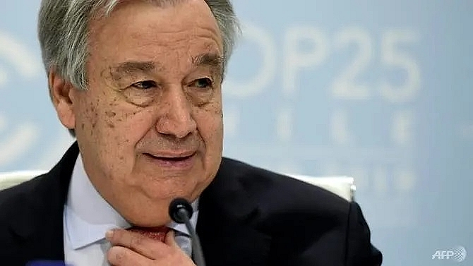un chief calls for restraint amid rise in global tensions