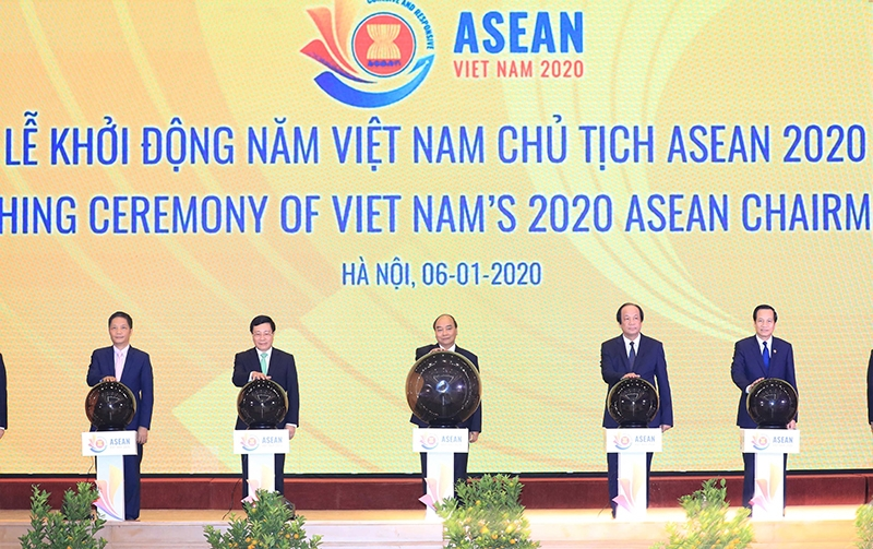 pm launches vietnams 2020 asean chairmanship