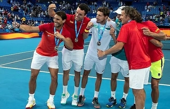 argentina and nadal led spain sweep into atp cup quarters