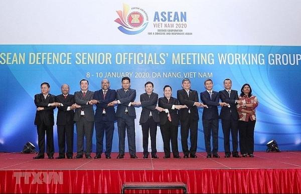asean defense senior officials meeting opens in da nang