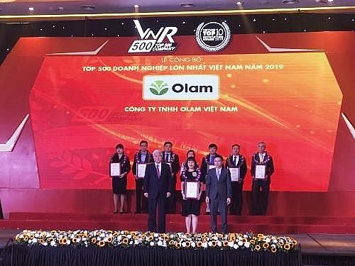 vietnams top 500 largest enterprises in 2019 announced