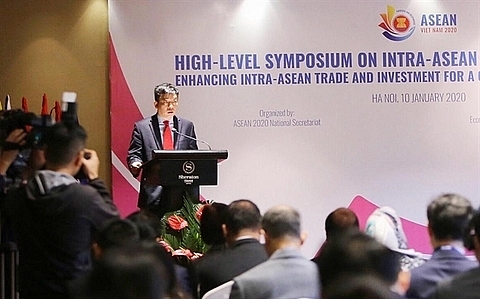 promoting intra asean economy for a cohesive and proactive bloc