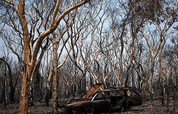 australian megablaze brought under control