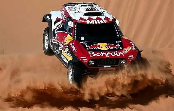 peterhansel edges al attiyah in dakar stage 9