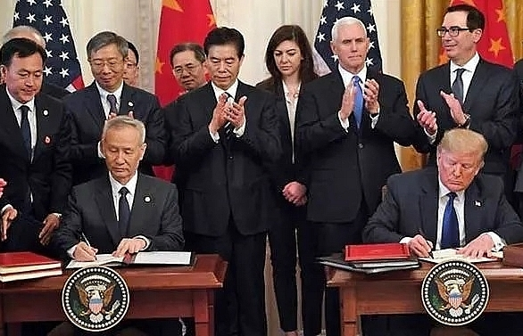 us china sign momentous trade deal