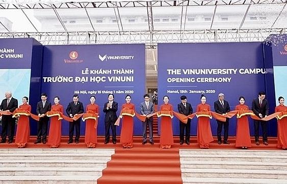 vingroup opens vinuni university in hanoi