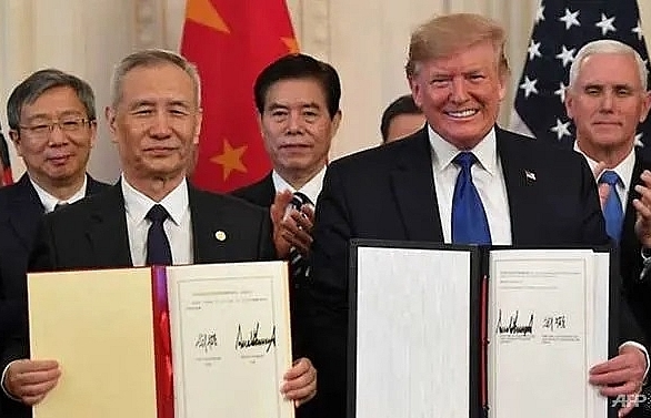 whats in the new us china phase one trade deal