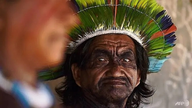 amazon tribes meet to counter bolsonaros environmental threats