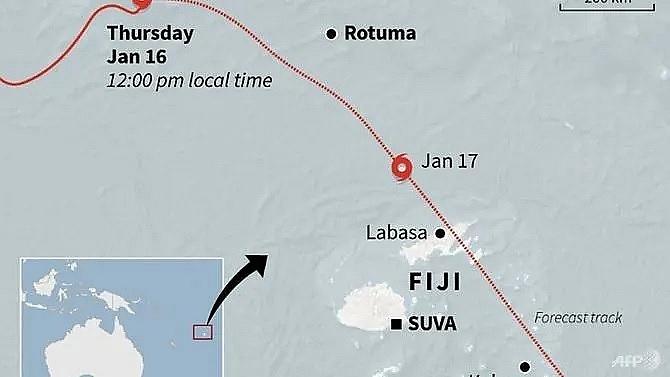 fiji opens evacuation centres as cyclone tino hits