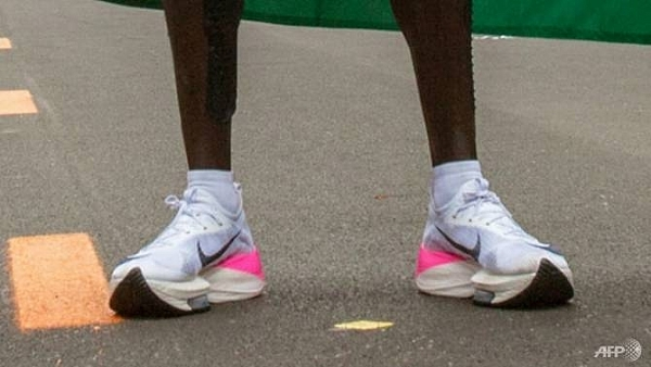 anticipation of nike miracle shoe ban lifts commercial rivals