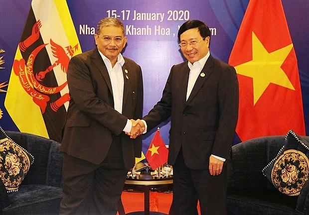 vietnam brunei agree to push comprehensive partnership