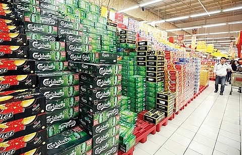 beer sale drops badly in tet
