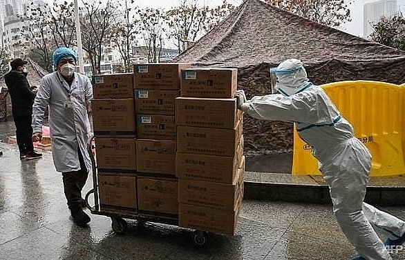 vast wuhan virus quarantine in china as cases emerge in europe south asia