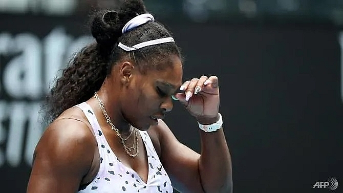 williams osaka out federer survives as surprises rock australian open