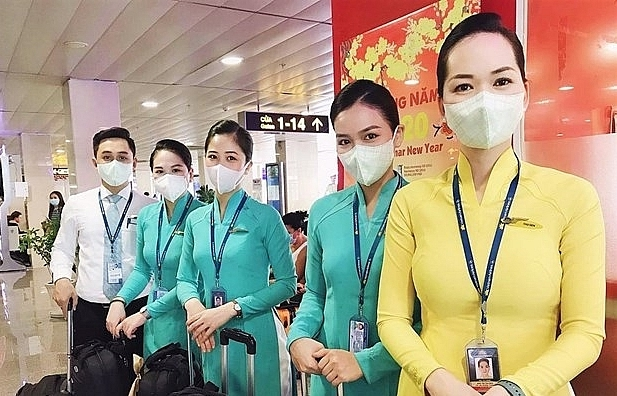 flights from ncov affected areas to vietnam suspended