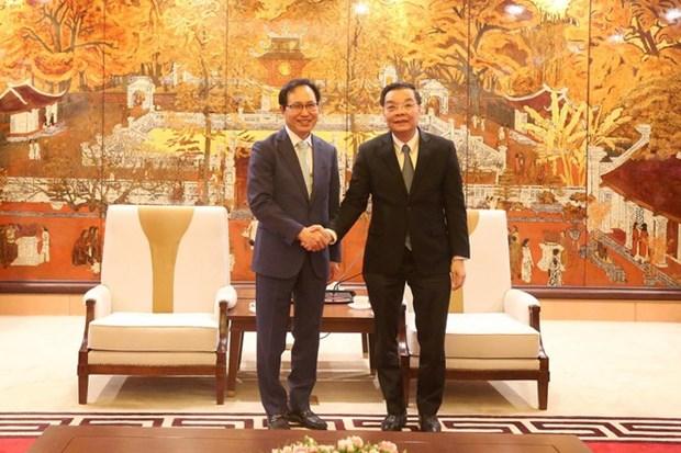 samsung urged to back hanoi in smart city development