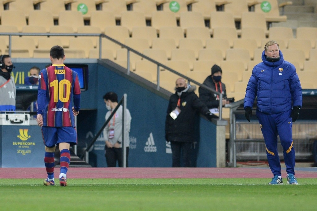 messi banned for two matches after historic barca red