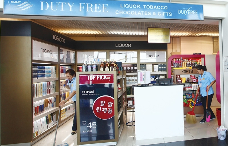 cities the ticket for duty free stores