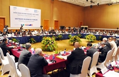 increasing private sectors role in vietnam business forum
