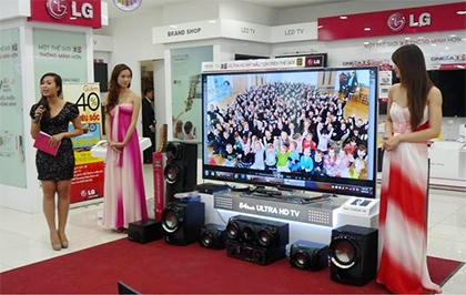lg rings in spectacular results