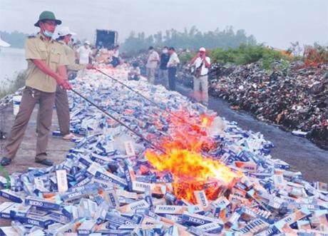 illicit cigarettes face crackdown