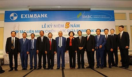 eximbank and sumitomo mitsui bank step up partnership
