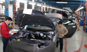 industrial production inches up