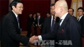 president encourages japanese investment in vietnam