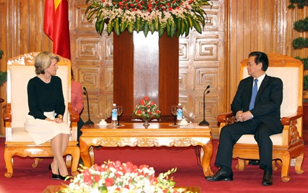 Vietnam boosts ties with Australia, Kyrgyzstan