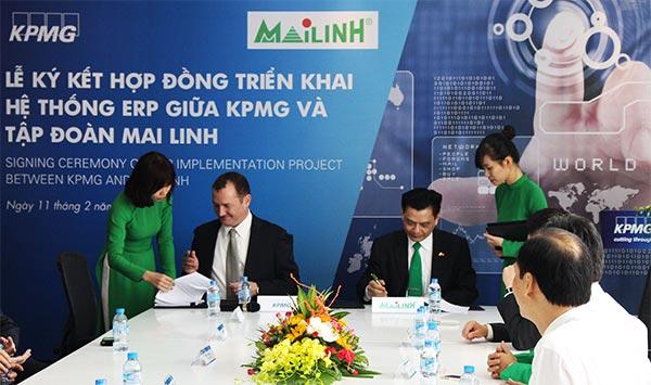kpmg limited became mai linh group strategic advisor
