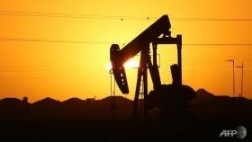 Oil ends lower on supply glut concerns